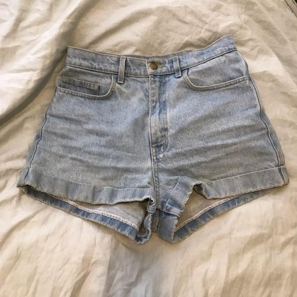 American Apparel Jean Shorts Size 29